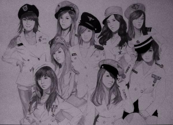 Girls' Generation par Ikigami